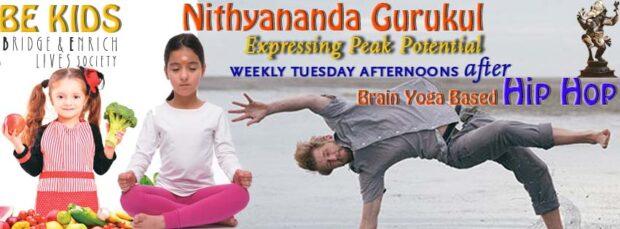 BE Kids Tuesdays: Hip-Hop and Nithyananda Gurukul